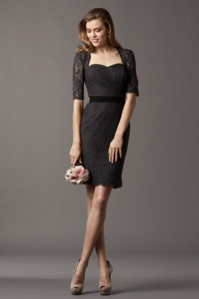 robe de cocktail courte